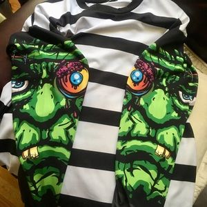 Asos Monster Sleeve Shirt